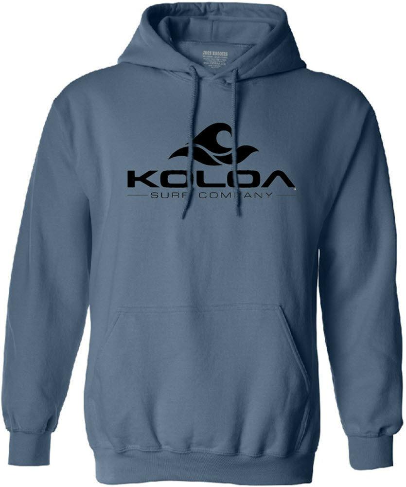 Koloa Surf Co. Classic Wave Logo Hooded Sweatshirts - Indigo Blue ... 4062caafc9ce