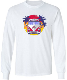 Koloa Surf Surf Van Logo Long Sleeve Heavyweight T-Shirts