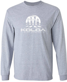 Koloa Surf Surfboards at Sunset Logo Long Sleeve Heavyweight T-Shirt