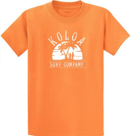 Orange Sherbet / White logo