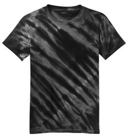 Black tie-dye