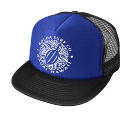 Royal Blue with White logo
