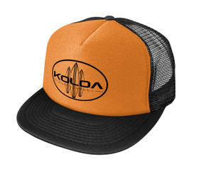 Neon Orange with Black logo