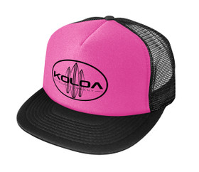 Neon Pink with Black logo