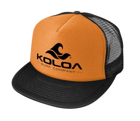 Neon Orange with Black logo