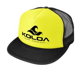 Neon Yellow with Black logo