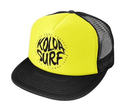 Neon Yellow / Black logo