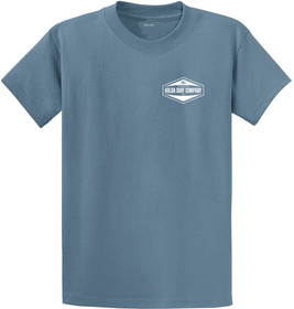 Stonewash Blue / White logo