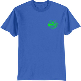 Royal Blue / Green logo