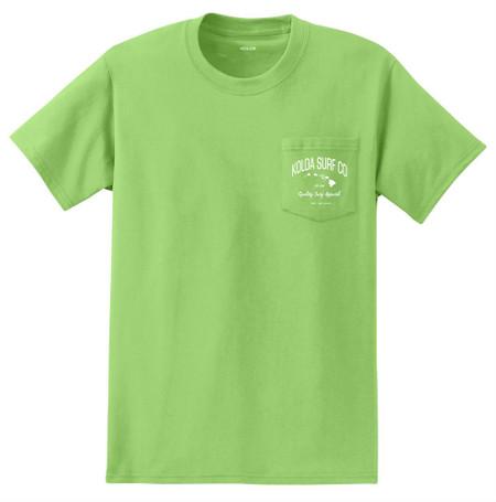 Lime / White logo