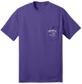 Purple / White logo
