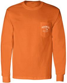 Orange / White logo