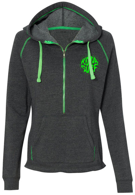 Neon Green with Green logo front