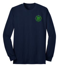 Navy / Green logo