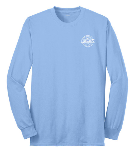 Light Blue / White logo