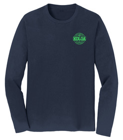 Deep Navy / Green logo