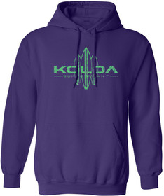Purple / Green logo