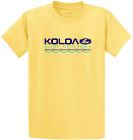 Koloa Surf Endless Waves Heavyweight Tees - Reg, Big and Tall