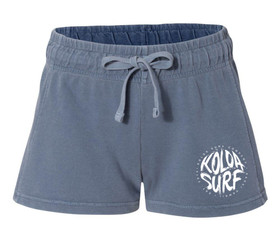 Koloa Surf Women's Brush Design French Terry Shorts