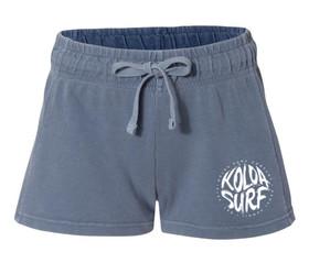 Koloa Surf Women's Brush Design French Terry Shorts