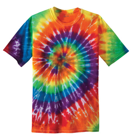 Tie dye shirts koloa surf co colorful tie dye t shirt for How do you dye a shirt
