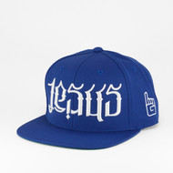 JC Ambigram Snapback - Royal Blue (Disciple)