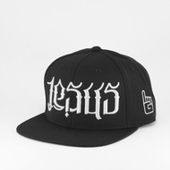 JC Ambigram Snapback - Black (Abba)