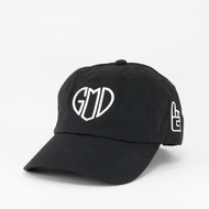 GOD IS LOVE Dad Hat - Black
