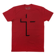 CROSS GOD IS LOVE - SS (FLOCK) RED
