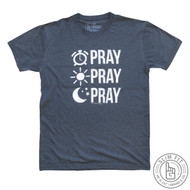 PRAY PRAY PRAY - PREMIUM SLIM FIT (INDIGO BLUE)