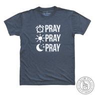 PRAY PRAY PRAY - PREMIUM SLIM FIT (INDIGO BLUE)