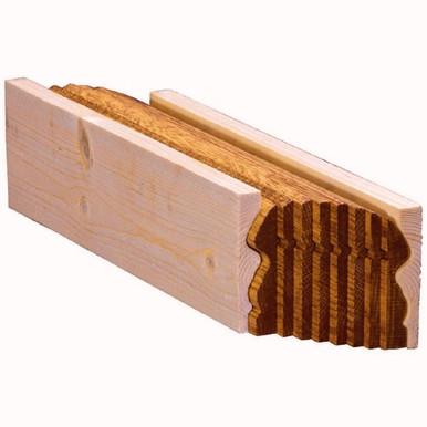 2-5/8 inch x 3 inch Wood Bending Handrail