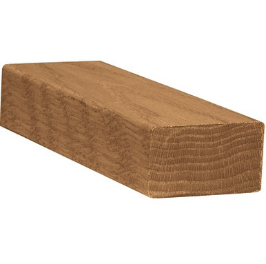 2-3/4 inch x 1-5/8 inch Square Wood Handrail