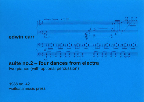 Suite No. 2 — 4 Dances from Electra