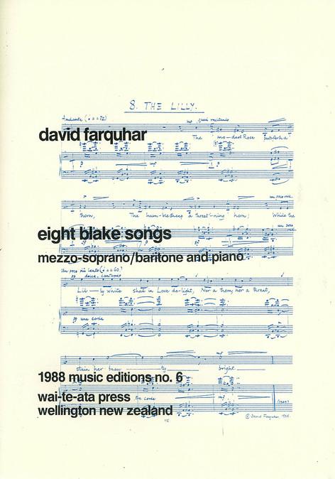 Eight Blake Songs