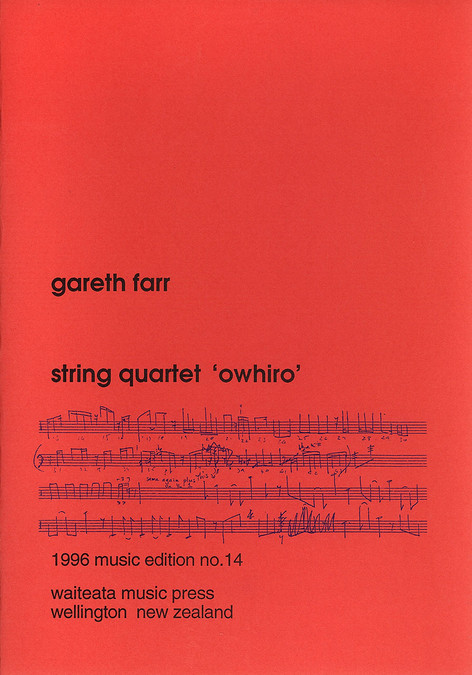 String Quartet 'Owhiro'