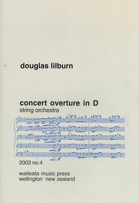 Concert Overture in D