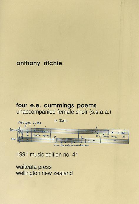 Four E E Cummings Poems