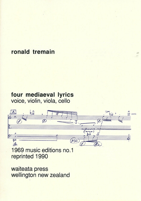 Four Medieval Lyrics
