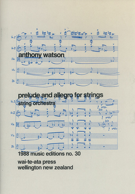 Prelude and Allegro for Strings