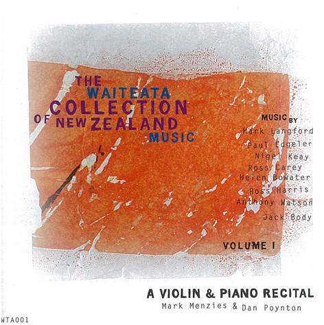 A Violin and Piano Recital