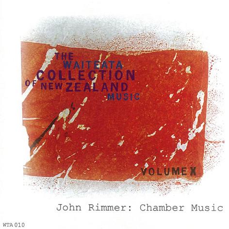 John Rimmer: Chamber Music