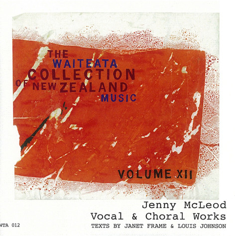 Jenny McLeod: Vocal and Choral Works