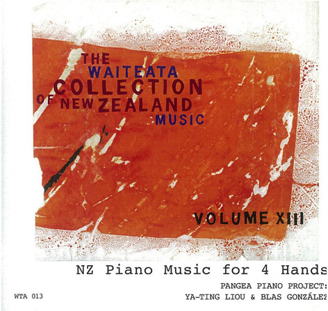 NZ Piano Music for 4 Hands