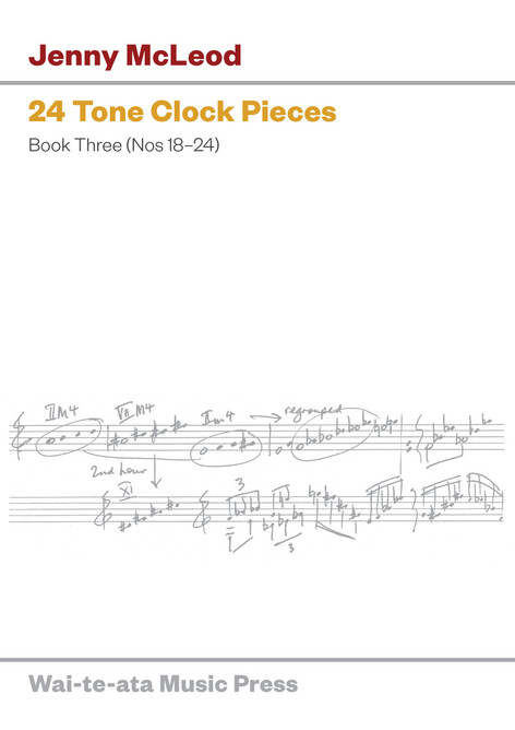 24 Tone Clock Pieces, Book III (Nos 18–24)