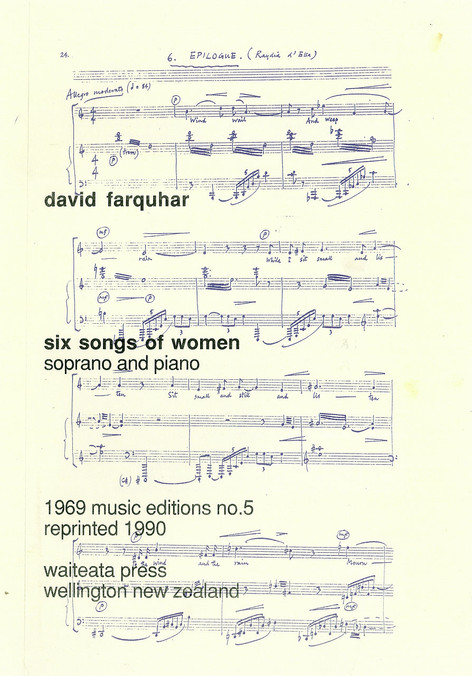 Six Songs of Women