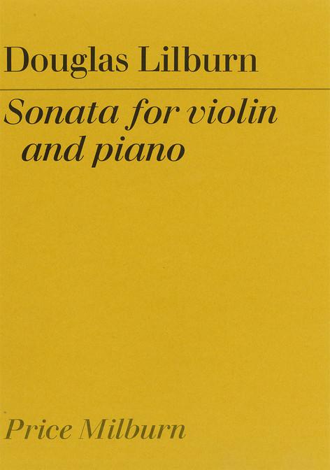 Sonata for violin and piano (Price Milburn)