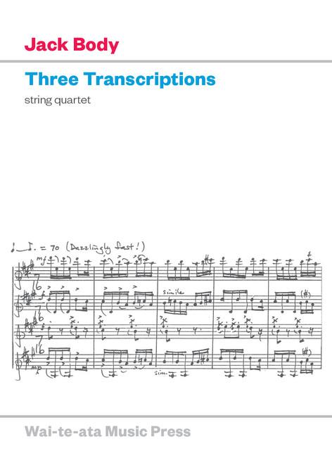 Three Transcriptions (new edition)