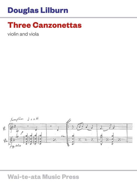 Three Canzonettas