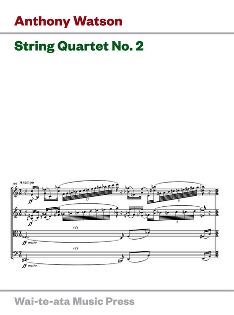 String Quartet No. 2 (new edition)